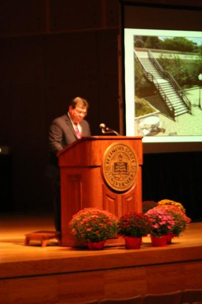 President Dieztz state of the university address 2