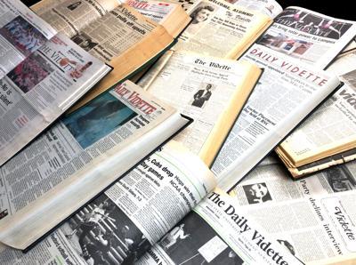 Vidette_old newspapers