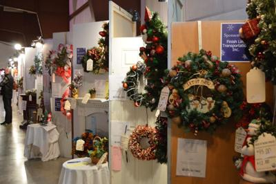 Festival of Trees Bloomington baby fold