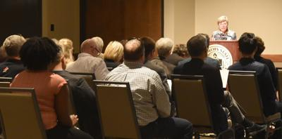 CAS Dean Zosky gives address, awards