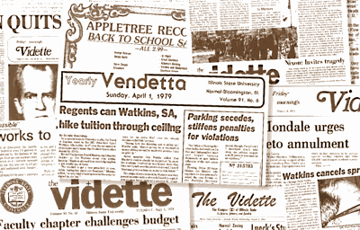 List of past Vidette editors | | videtteonline com