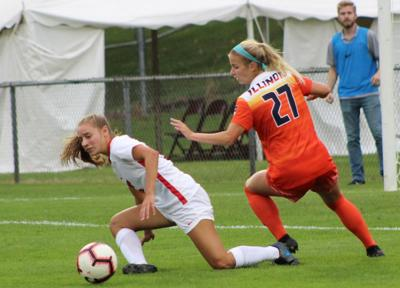 Late goal pushes Illinois State soccer 2-1 over Utah State