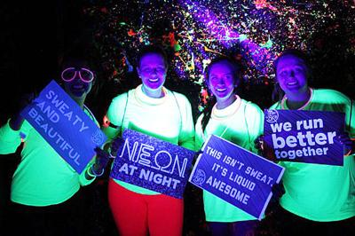 'Neon at Night 5k Fun Run' set for Wednesday