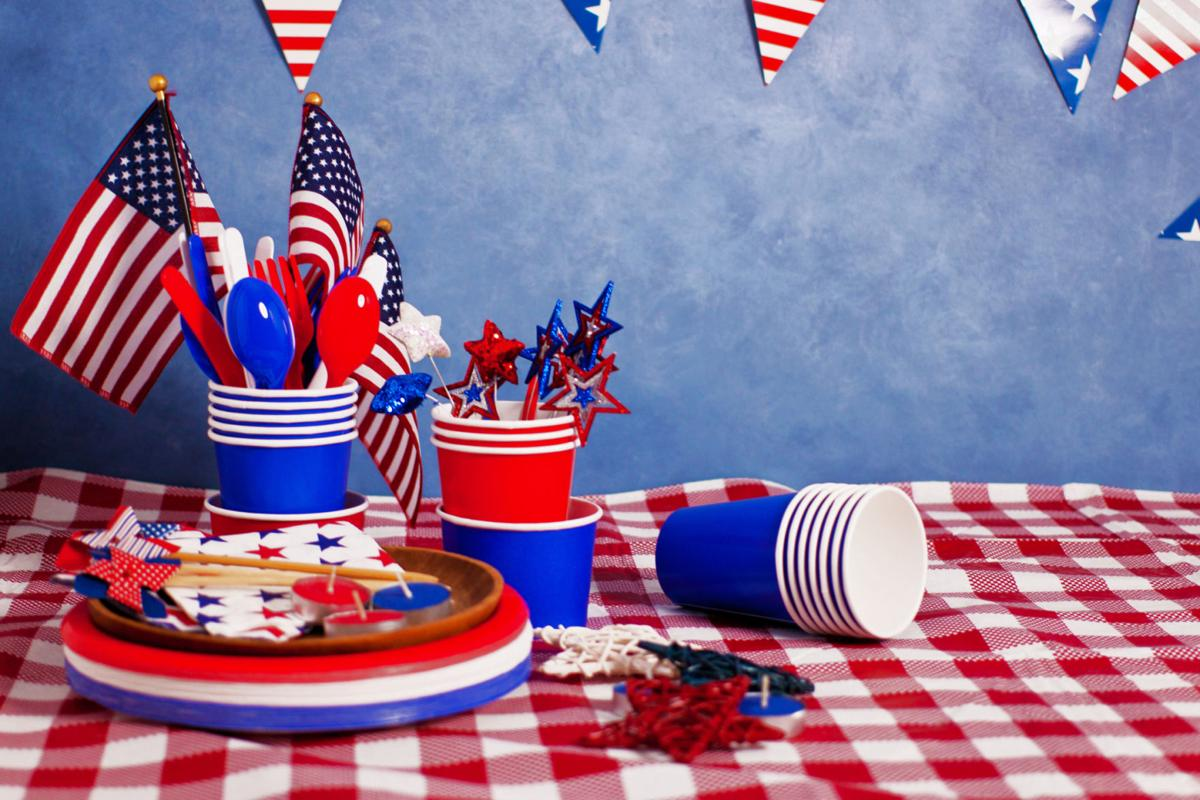 Labor Day table