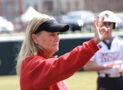 Emotional Farewell: Melinda Fischer's reaction to the shutdown of softball
