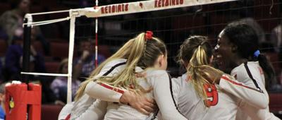 ISU volleyball defeats Loyola-Chicago in four sets