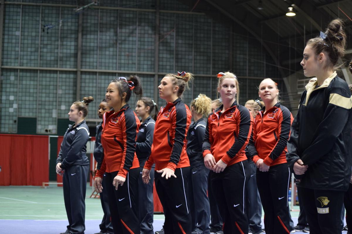 Danci Cha, Gymnastics, Tri Meet