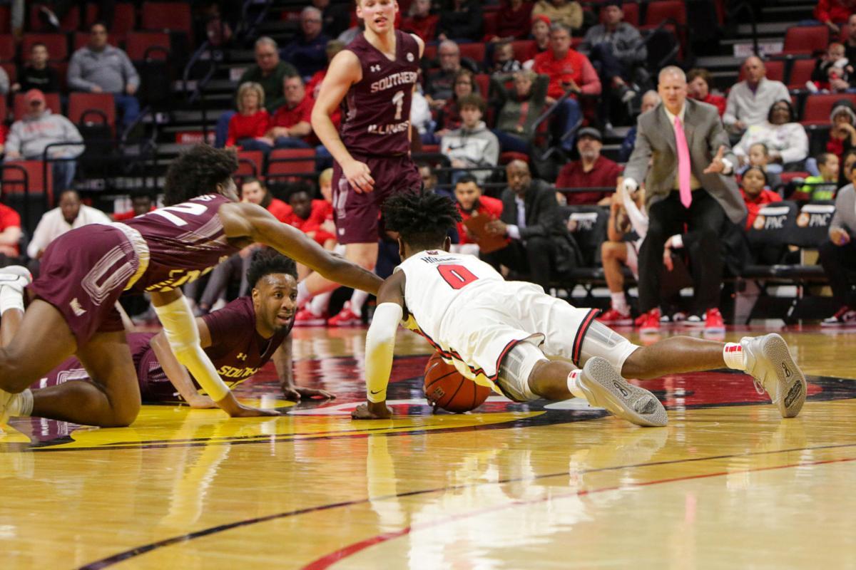 ISU vs SIU_men's basketball_horne