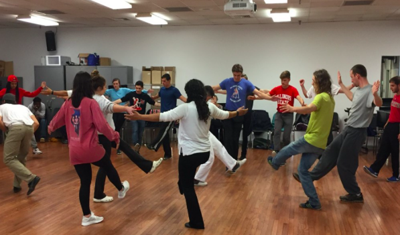Capoeira Angola class combines exercise and culture