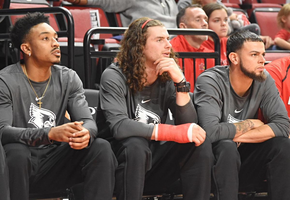 Mens Basketball vs Truman State bench