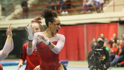 ISU gymnastics places second at MIC Championships