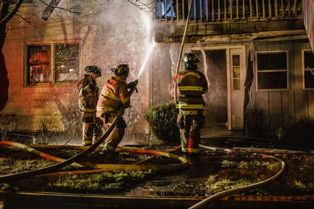House fire water