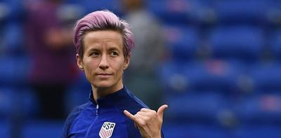 Rapinoe steals show at Women's World Cup to define her legacy