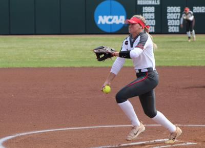 ISU softball splits twin bill, ends season at MVC Tournament