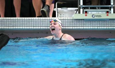 MVC Swimmer of the Year Kierston Farley-Sepe's personality shines above water