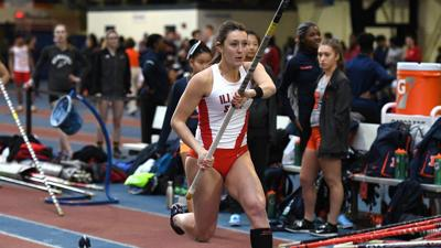 ISU track and field sweeps Redbird Invitational