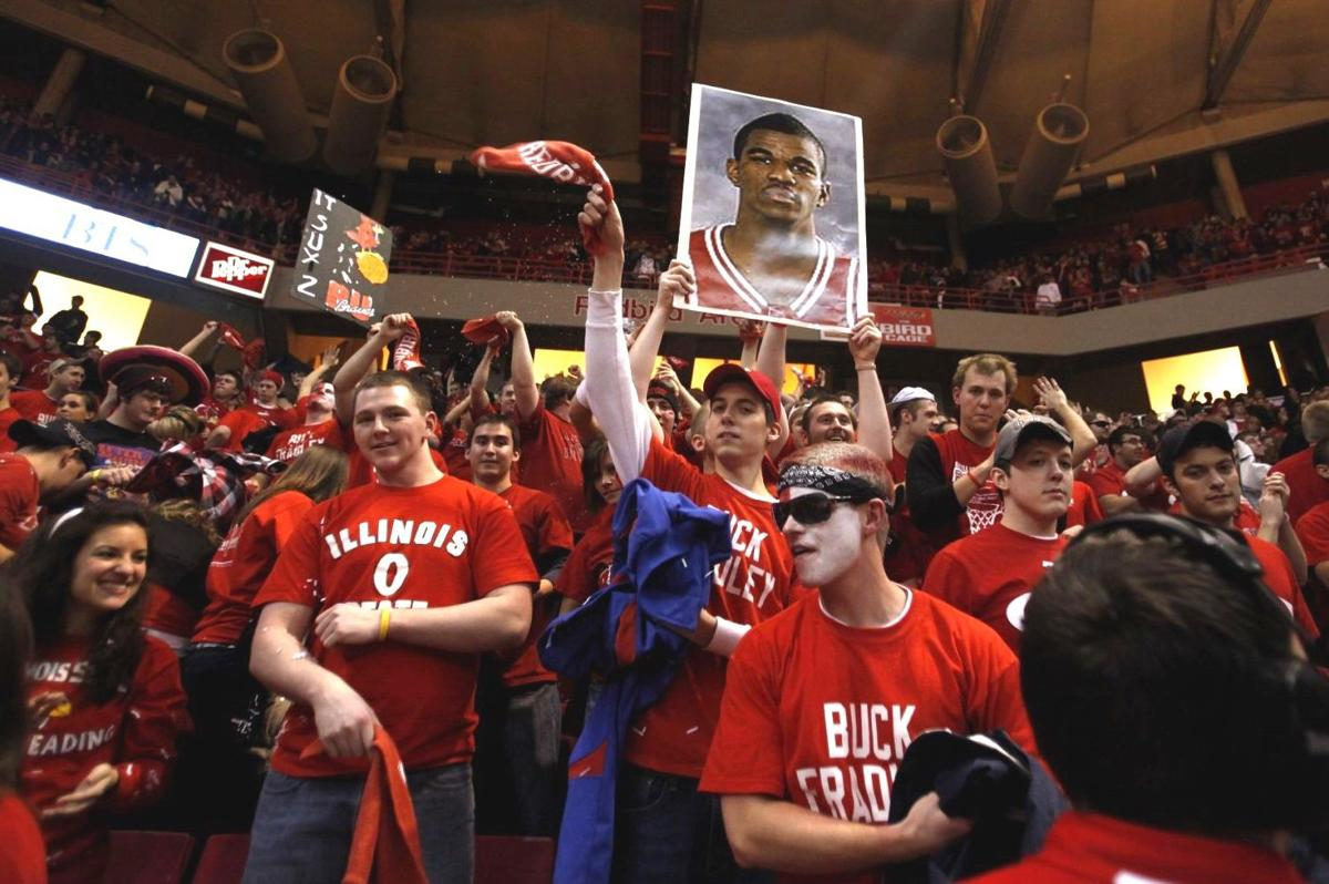 Fans at Redbird Arena
