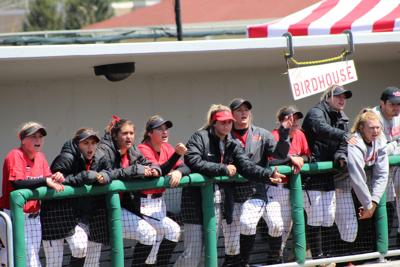 Softball splits doubleheader with Loyola on Senior Day