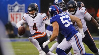 Chicago Bears and New York Giants