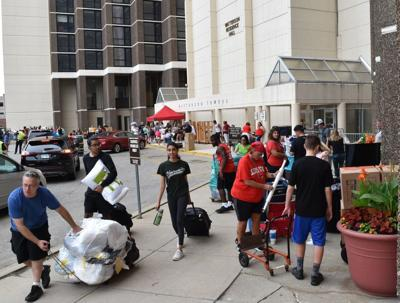 Traffic patterns and street closures in place as move-in commences