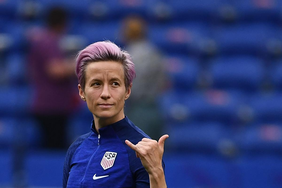 SPORTS-SOC-WORLDCUP-RAPINOE-GET