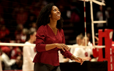 Tiffane Jackson named a recipient of the 2020 American Volleyball Coaches Association Diversity Award