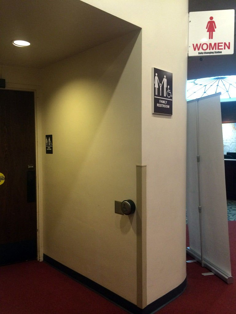 family restrooms on campus to become 'all-gender'   news
