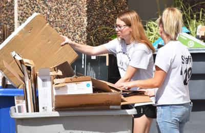 Recycling during Move-in