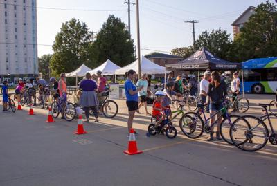 Light the Night helps bike riders be safe
