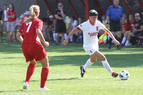 High-paced match results in 4-1 Redbird loss against Boston College