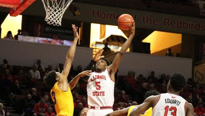 Men's basketball's road woes continue against Indiana State