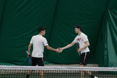 men's tennis dab up
