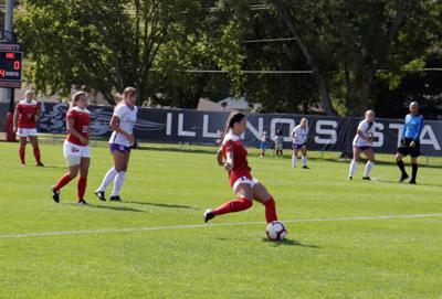 Vaughn-Low goal lifts ISU soccer into MVC finals