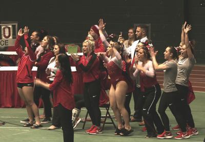 Gymnastics bests Southeast Missouri in home opener