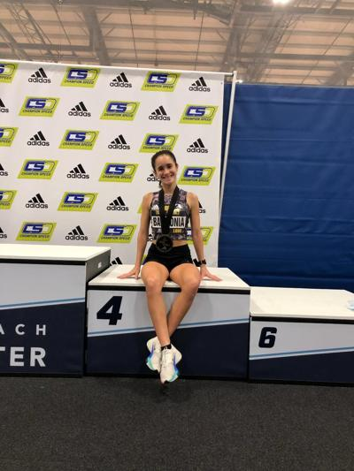 Viera's Babilonia sets new Brevard County indoor 5K record, earns All-American honors