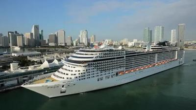 With Divina's voyage, MSC becomes 5th major cruise line to sail from Port Canaveral