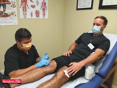 Brevard sports doc bets on experimental remedy