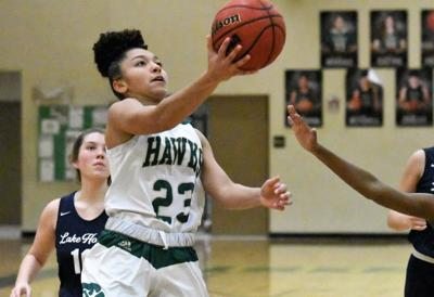Four Hawks score in double figures as Viera pulls away from Lake Howell in second half