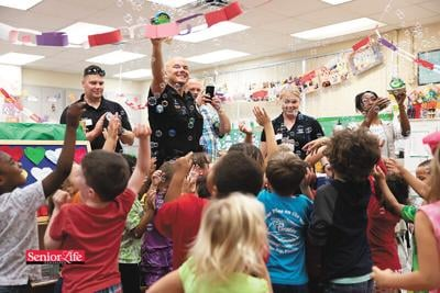 Hey, Blue initiative fosters trust between police and children