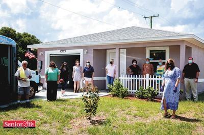 Female veterans earn Habitat for Humanity homes