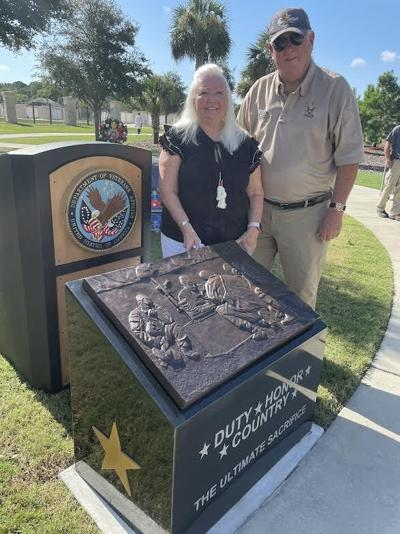 Monument to the Fallen unveiled at Cape Canaveral National Cemetery