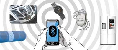 From wireless speakers to pacemakers, Bluetooth is everywhere