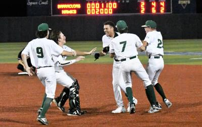 Hawks walk off again as Samuels delivers in bottom of seventh to put Viera into regional final