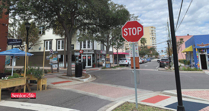 History — Then and Now — Harrison Street