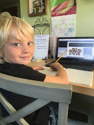 Families adapt, rise to challenges of virtual learning