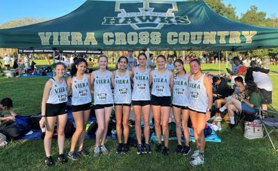 Toppi, Girard break school records on historic day for Viera cross-country teams