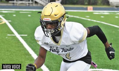 Sophomore takes lead role for Holy Trinity football
