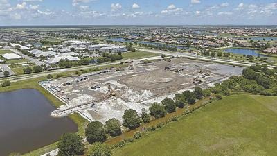 Construction underway on The Venue at Viera senior living facility