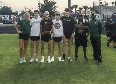 Sedaros, Toppi lead Viera boys to regional track title
