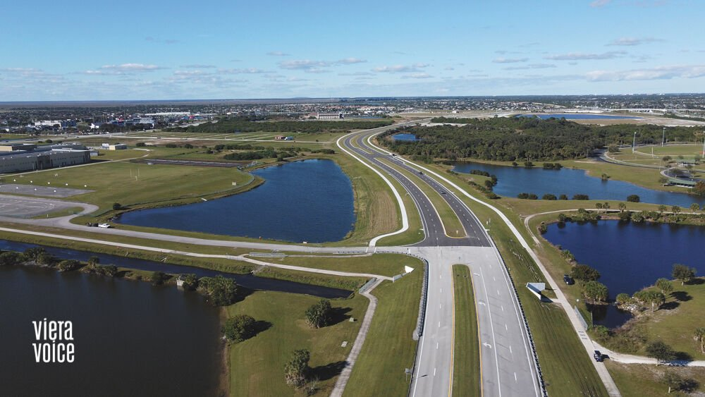 Lake Andrew Drive extends its reach to Viera Blvd.